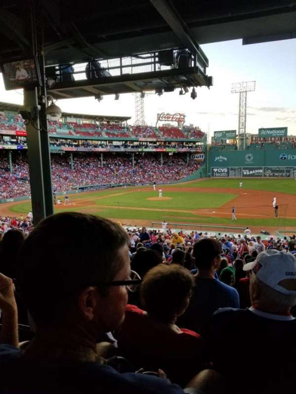 Fenway Park, section: Grandstand 14, row: 10, seat: 18