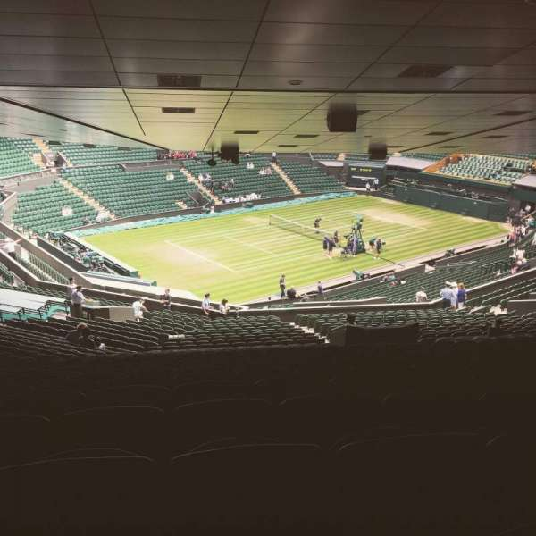 Wimbledon, Centre Court, section: 506, row: ZE, seat: 125