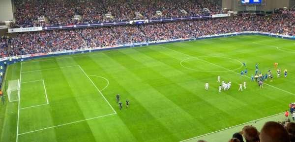 Ibrox Stadium, section: CD6, row: K