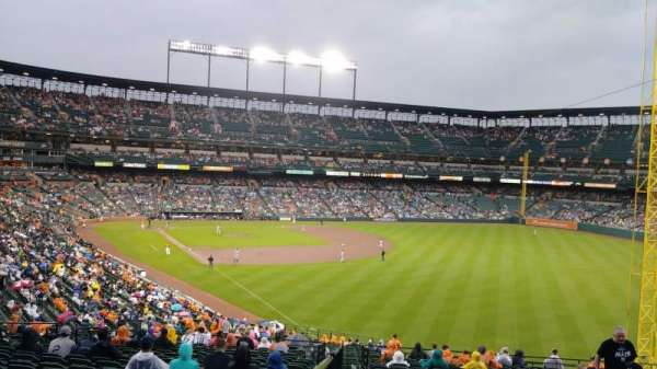 Oriole Park at Camden Yards, section: 7, row: 11, seat: 1