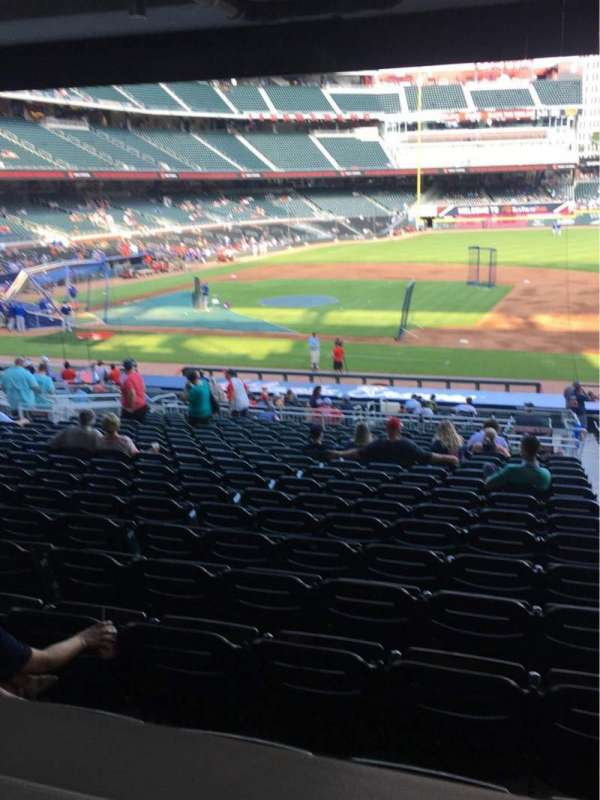 SunTrust Park, section: 118, seat: Wheelchair