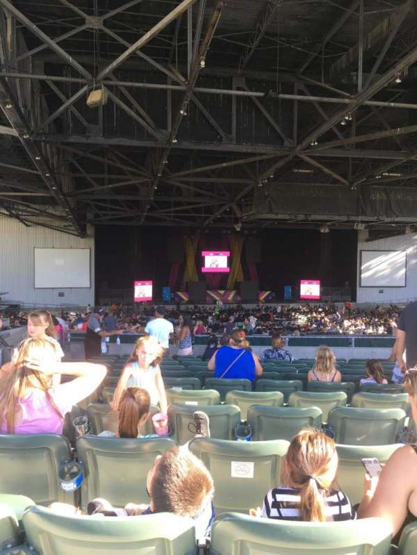 Concord Pavilion, section: 206, row: D, seat: 14