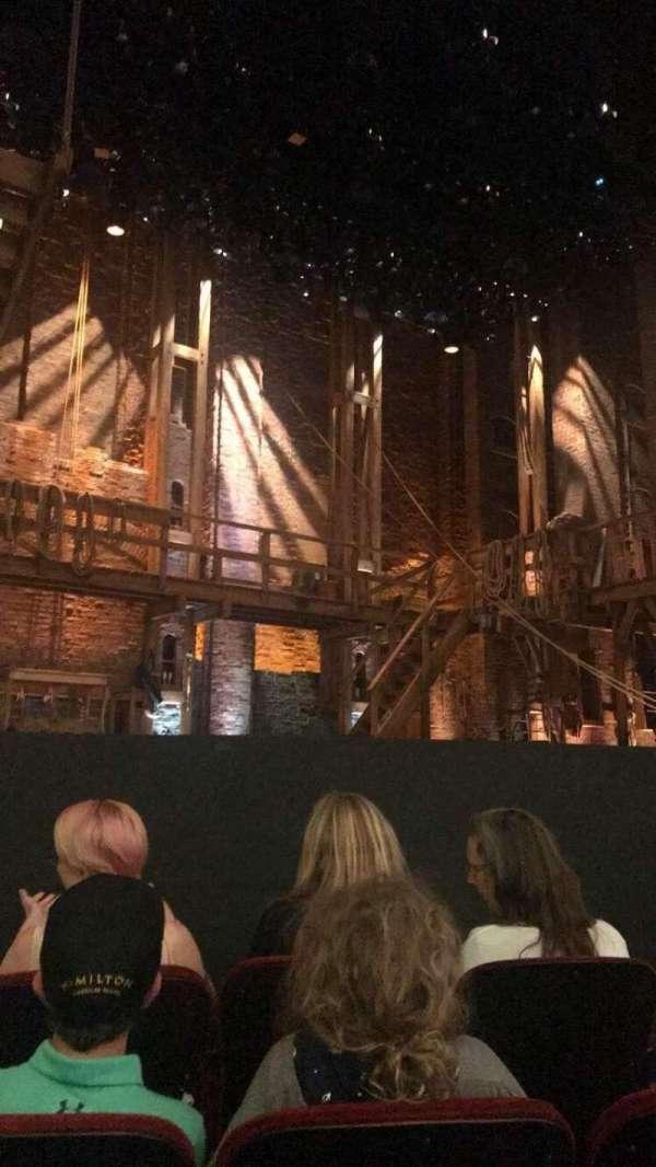 CIBC Theatre, section: Orchestra L, row: E, seat: 9