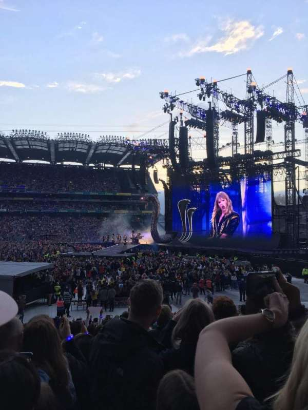 Croke Park, section: 302, row: T