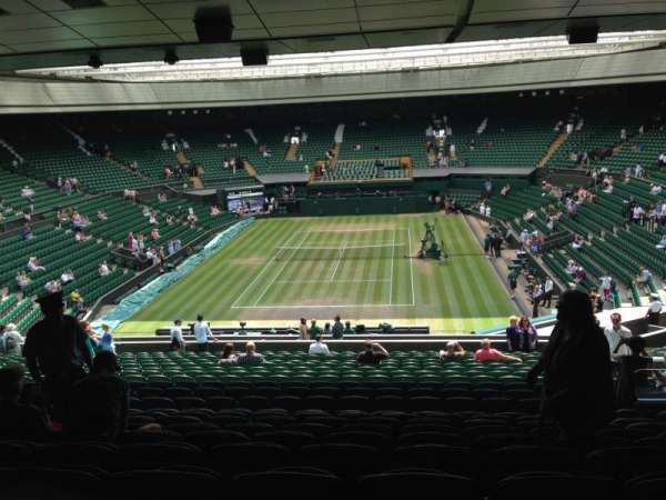 Wimbledon, Centre Court, section: 309, row: V, seat: 199