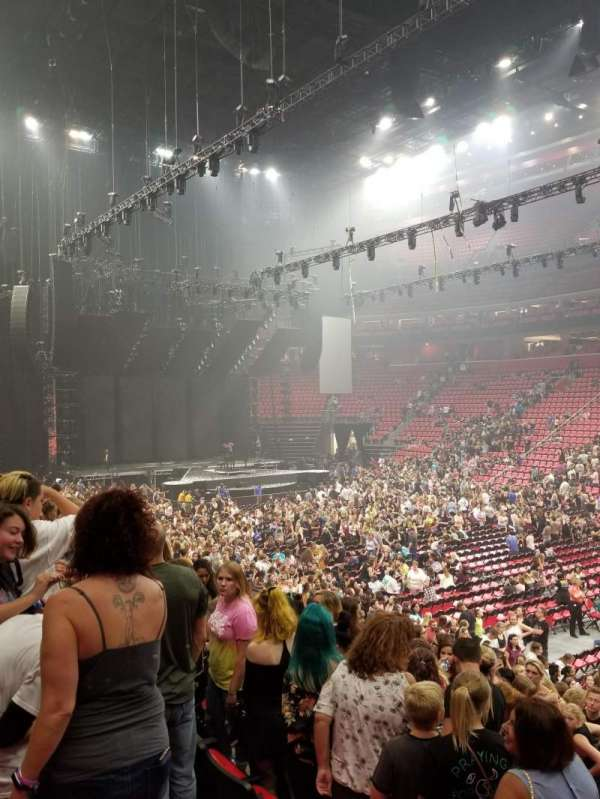 Little Caesars Arena, section: 119, row: 14, seat: 10