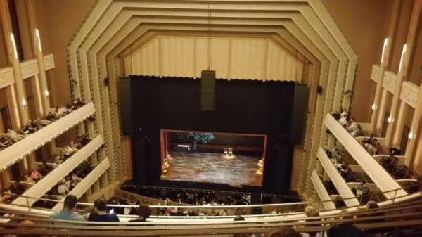 Reynolds Hall at The Smith Center, section: Balcony, row: F, seat: 229