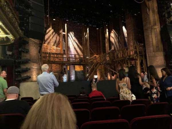 CIBC Theatre, section: Orchestra L, row: J, seat: 13
