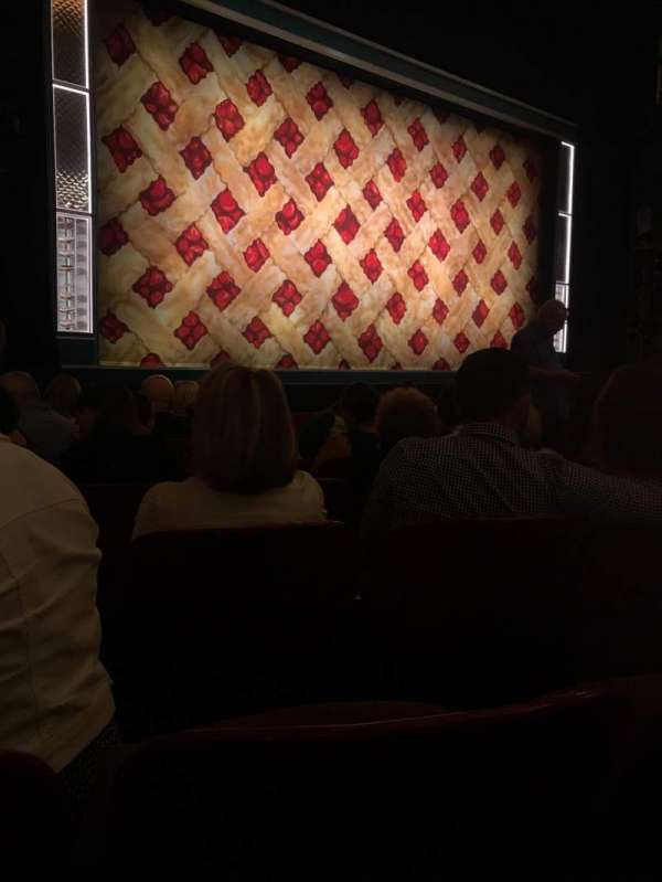 Cadillac Palace Theater, section: Orchestra L, row: H, seat: 13