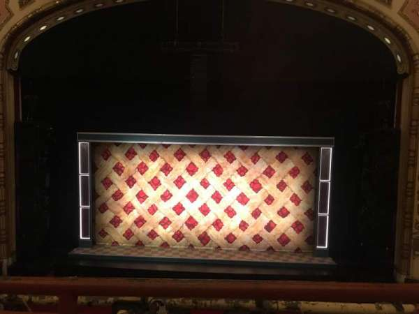 Cadillac Palace Theater, section: LOGE, row: A, seat: 318