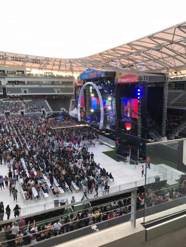 Banc of California Stadium, section: M1, row: B, seat: 1