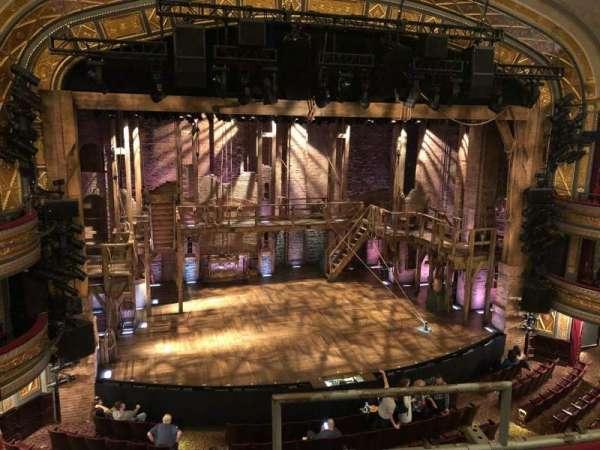 Richard Rodgers Theatre, section: Front Mezzanine L, row: C, seat: 3