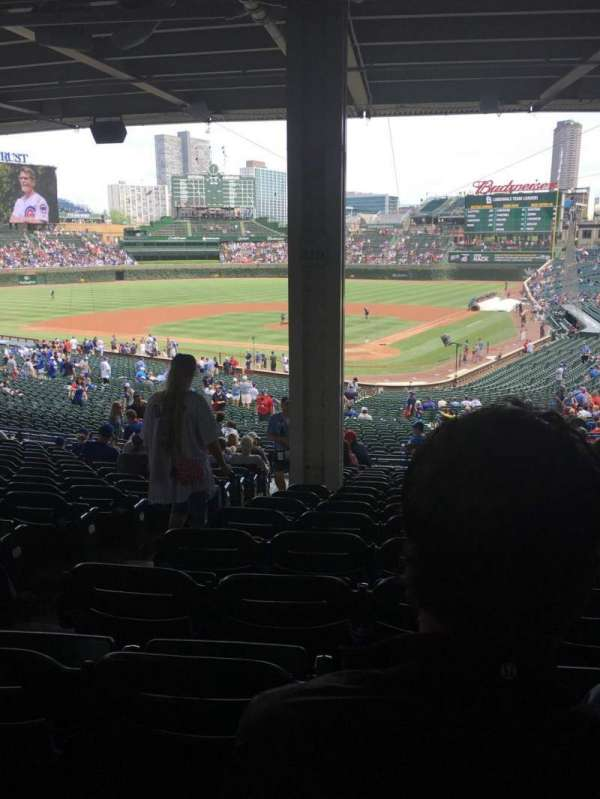 Wrigley Field, section: 216, row: 15, seat: 3