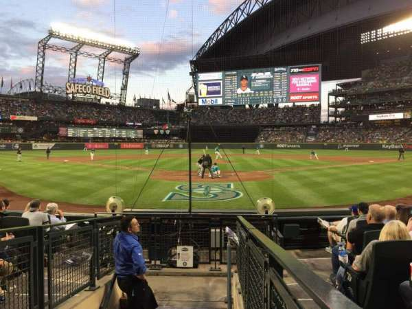 T-Mobile Park, section: 129, row: 9, seat: 8