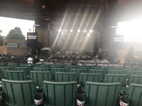 Ruoff Home Mortgage Music Center, section: F, row: M, seat: 21