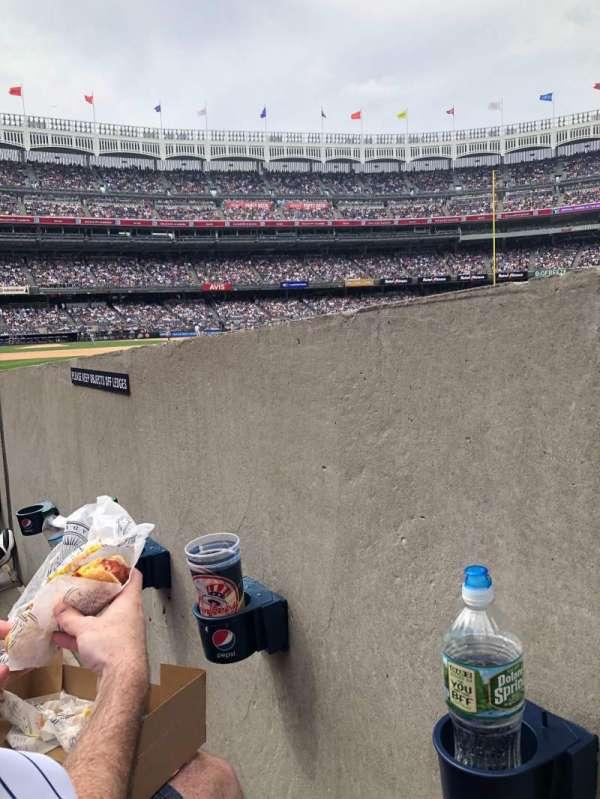 Yankee Stadium, section: 110, row: 3, seat: 1