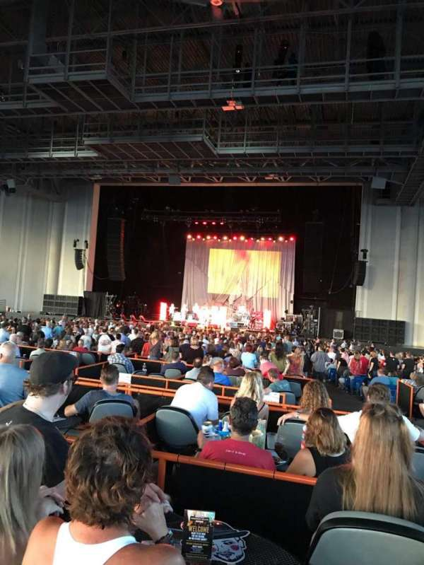 PNC Music Pavilion, section: Box 68, row: 1, seat: 3