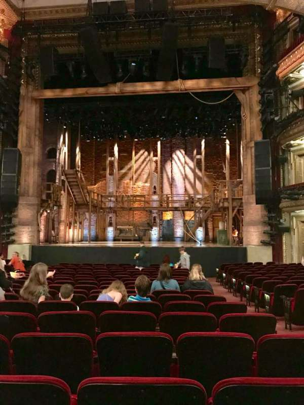 CIBC Theatre, section: Orchestra C, row: T, seat: 113