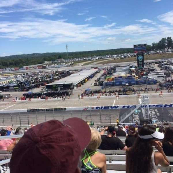 New Hampshire Motor Speedway, section: CAA, row: 46, seat: 21