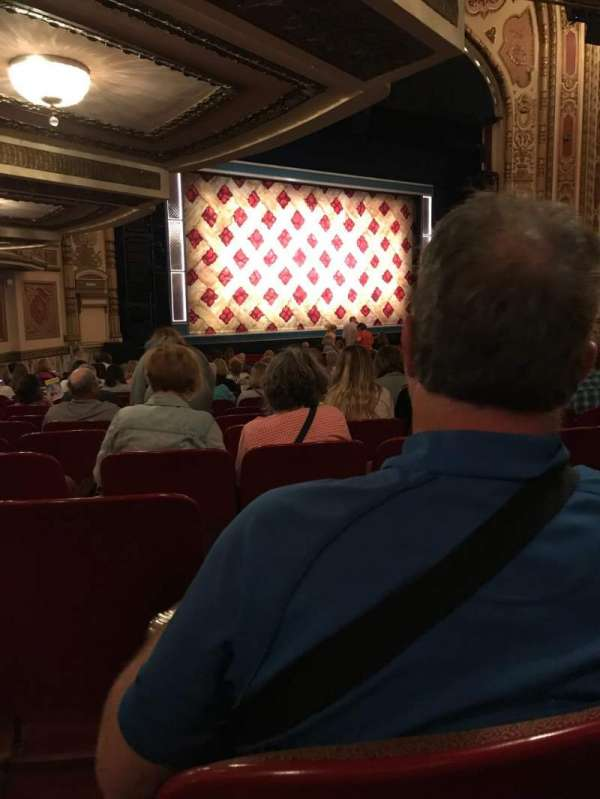 Cadillac Palace Theater, section: Orch R, row: U, seat: 35