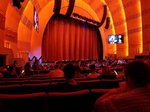 Radio City Music Hall, section: Orchestra 7, row: D, seat: 707