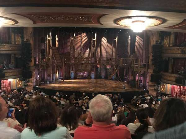 Richard Rodgers Theatre, section: Orchestra C, row: S, seat: 105