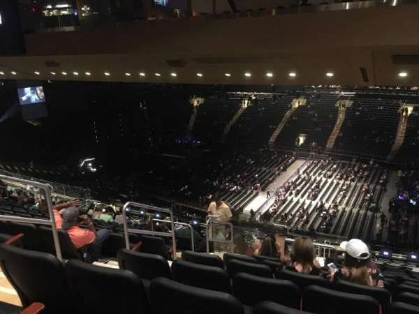 Madison Square Garden, section: 226, row: 18, seat: 5
