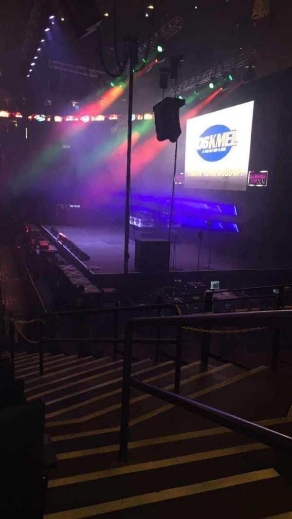 Oracle Arena, section: 117, row: 11