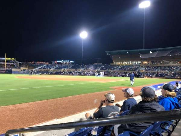 Durham Bulls Athletic Park, section: 119, row: C, seat: 1