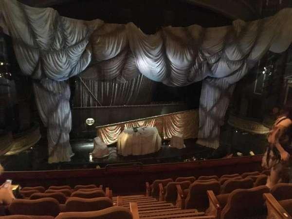 Majestic Theatre, section: Mezzanine, row: G, seat: 1