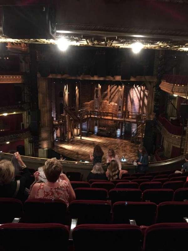 CIBC Theatre, section: Mezzanine R, row: J, seat: 10