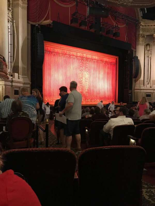 Boston Opera House, section: Orclft, row: P, seat: 35