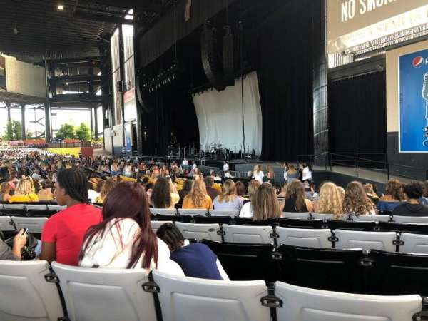 Hollywood Casino Amphitheatre Tinley Park Section 101 Row W