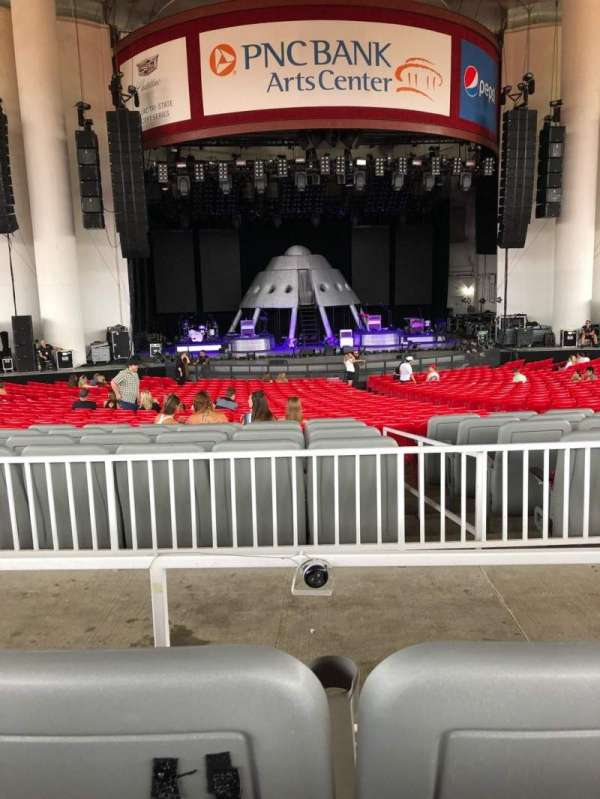PNC Bank Arts Center, section: 203, row: 11, seat: 3