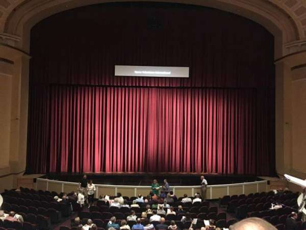 Merrill Auditorium, section: Grand tier section 3, row: B, seat: 10