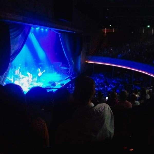 Ryman Auditorium, section: BAL-16, row: H, seat: 1
