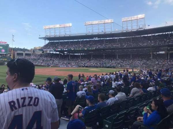 Wrigley Field, section: 108, row: 5, seat: 13