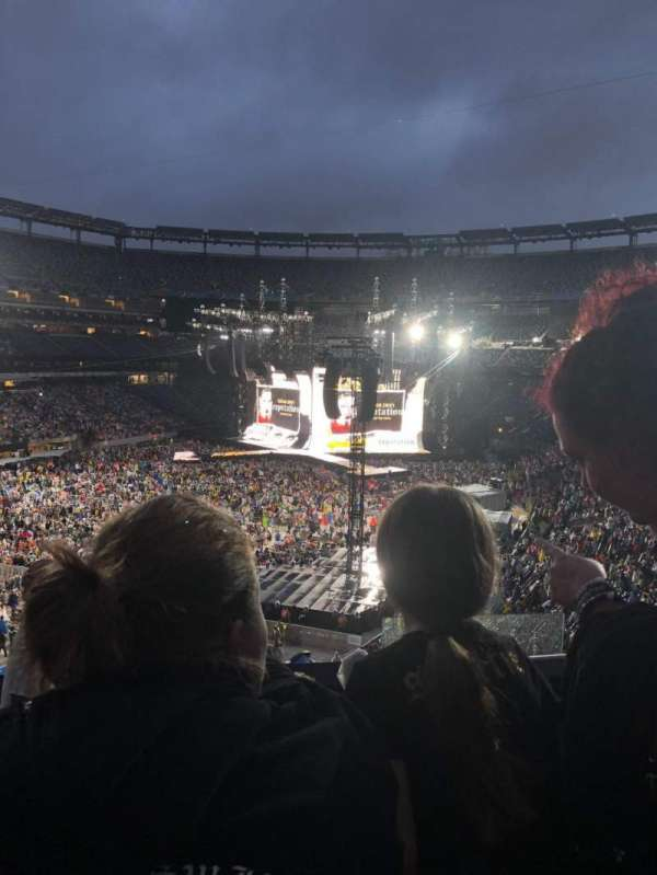 MetLife Stadium, section: 222, row: 6, seat: 3