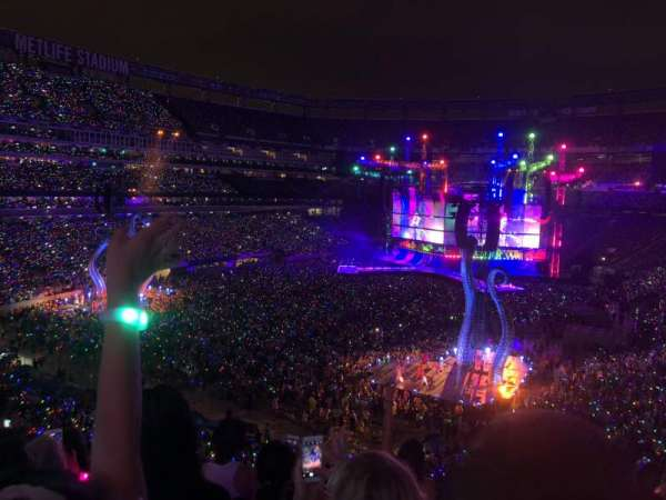 MetLife Stadium, section: 222A, row: 6, seat: 3