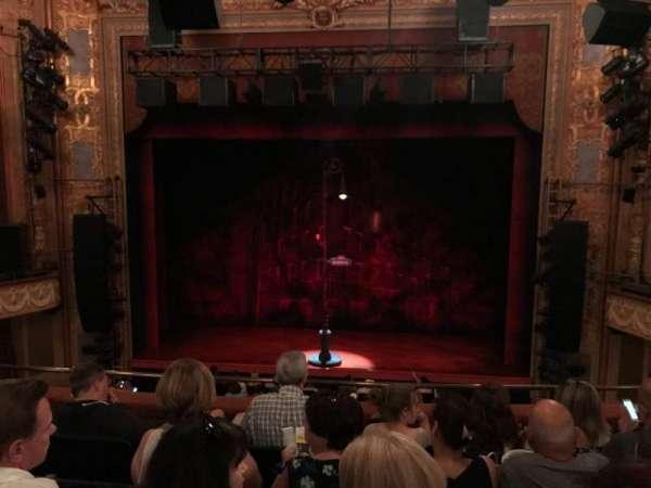 Longacre Theatre, section: Mezz, row: E, seat: 103