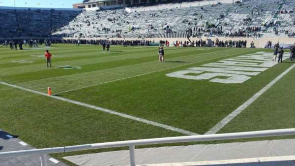 Spartan Stadium, section: 3, row: 2, seat: 56