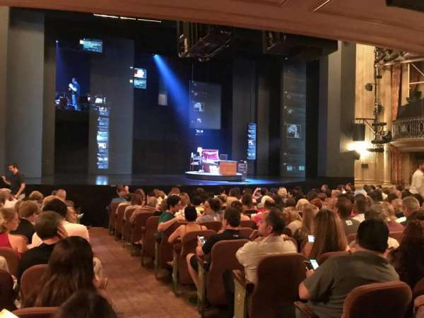 Music Box Theatre, section: Orchestra L, row: O, seat: 1