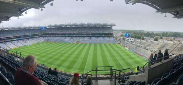 Croke Park , section: 702, row: M, seat: 25