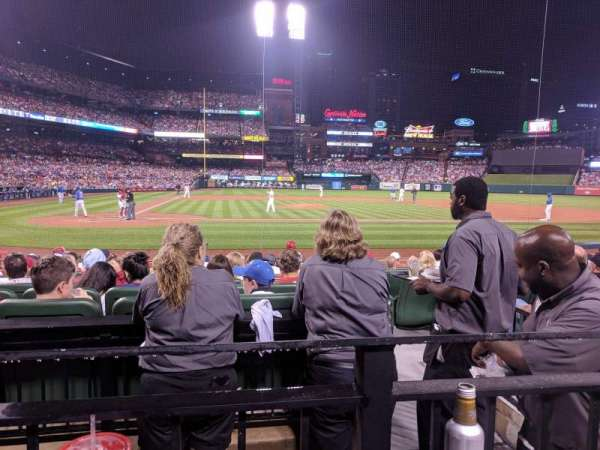 Busch Stadium, section: 146, row: 1, seat: 7