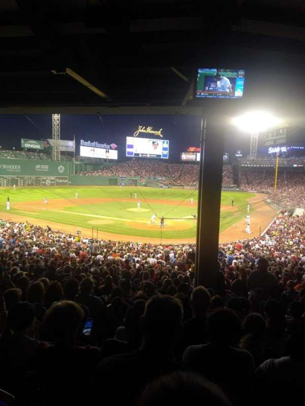 Fenway Park, section: Grandstand 22, row: 11, seat: 4