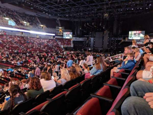 Intrust Bank Arena, section: 105, row: L, seat: 12