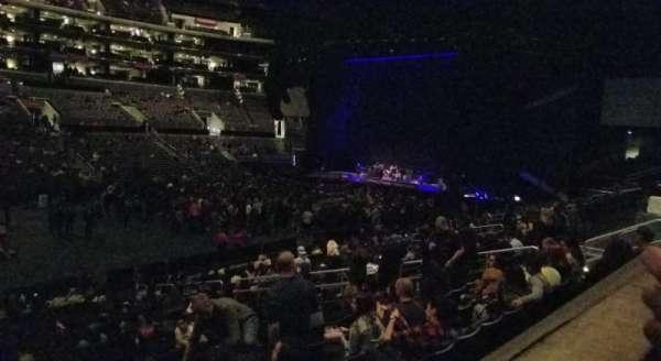 Staples Center, section: PR6, row: 1, seat: 11