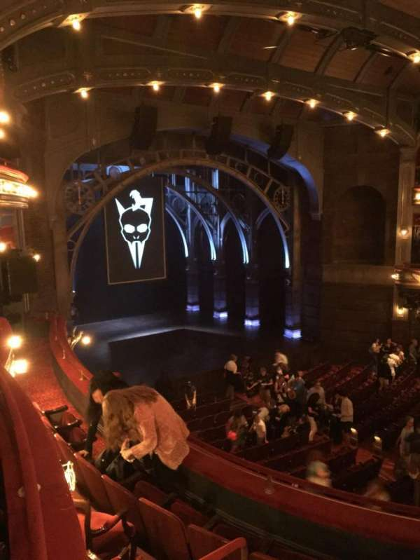 Lyric Theatre, section: Dress Circle L, row: Box A, seat: 1