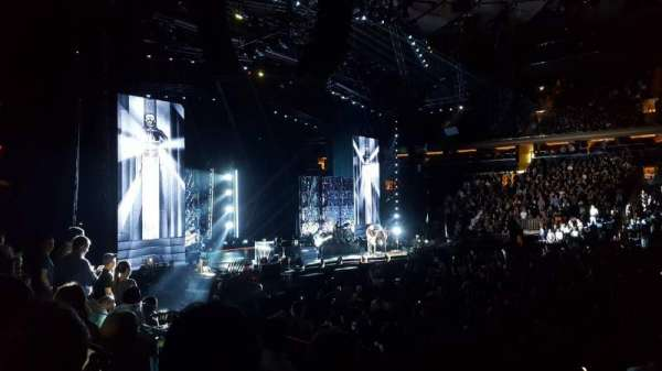 Madison Square Garden, section: 117, row: 8, seat: 11