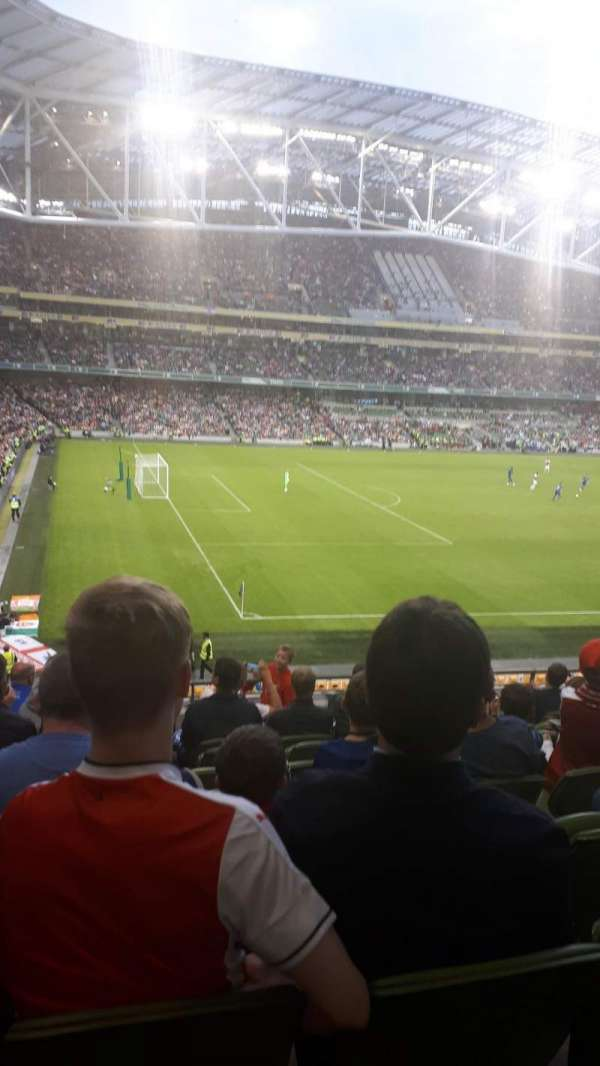 Aviva Stadium, section: 309, row: J, seat: 26